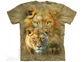 Tričko s potiskem africké obrázky