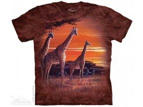 Dětské Tričko Západ Slunce