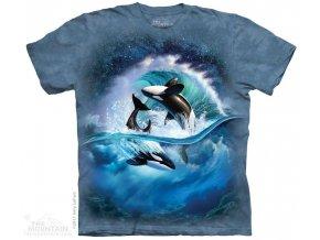Dětské Tričko Orca Wave