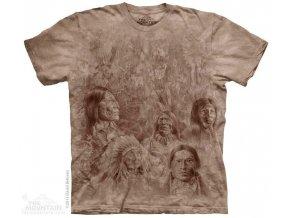 Tričko s potiskem indiáni na zdi