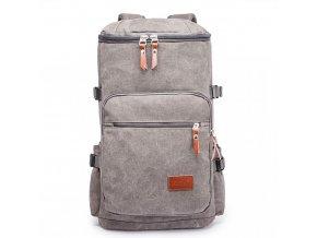 Pánský outdoorový vysoký batoh - šedý