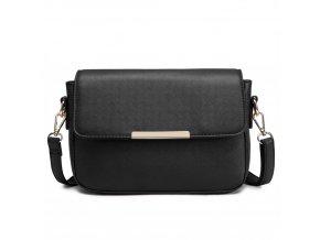 Elegantní crossbody kabelka - černá