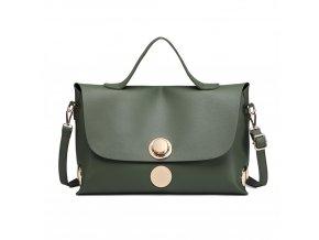 Stylová crossbody taška - zelená