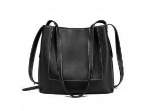 Praktická kabelka na rameno - černá