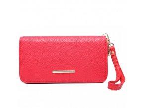 Dámska peněženka - červená Red