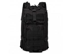 Pánský multifunkční turistický batoh na záda KONO - černý