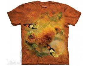 Tričko Slunečnice a Motýli
