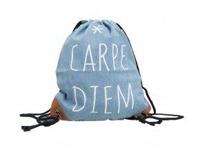 Vak na záda džínový - Carpe Diem