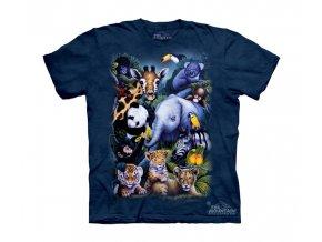 Dětské tričko Zvířata