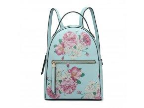Dizajnový batoh Rosalinda - modrý