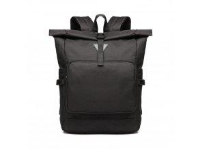 Prostorný cestovní batoh Oxford - černý