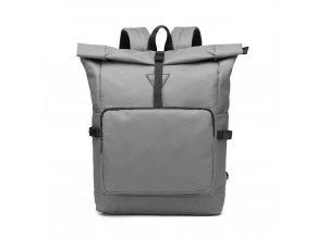 Prostorný cestovní batoh Oxford - šedý