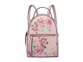 Dizajnový batoh Rosalinda - růžový