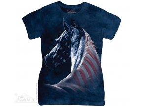 Tričko Americký kůň - Dámské