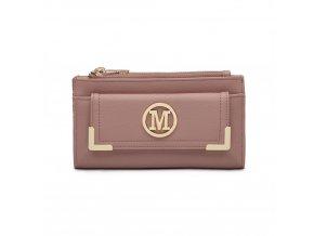 Luxusní dámská peněženka Melinda - růžová