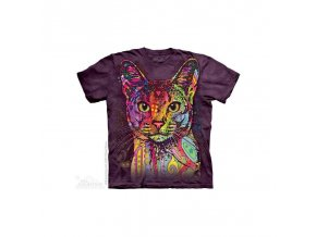 Tričko Barevná Kočička - Dětské