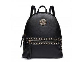 Stylový dámský batoh Melinda - černý