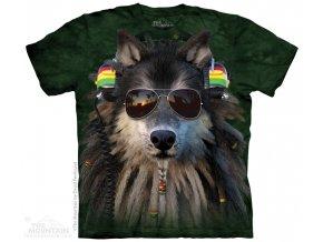 Tričko Rasta Vlk - Dětské