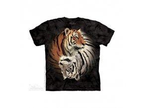 Tričko Ying Yang Tygři - Dětské - 2016