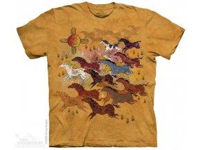 Tričko Domorodé umění Hliněné