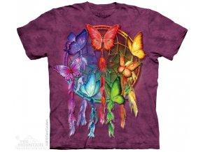 Tričko Lapač snů a motýlci