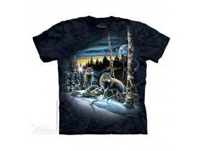 Tričko Vlci v lese
