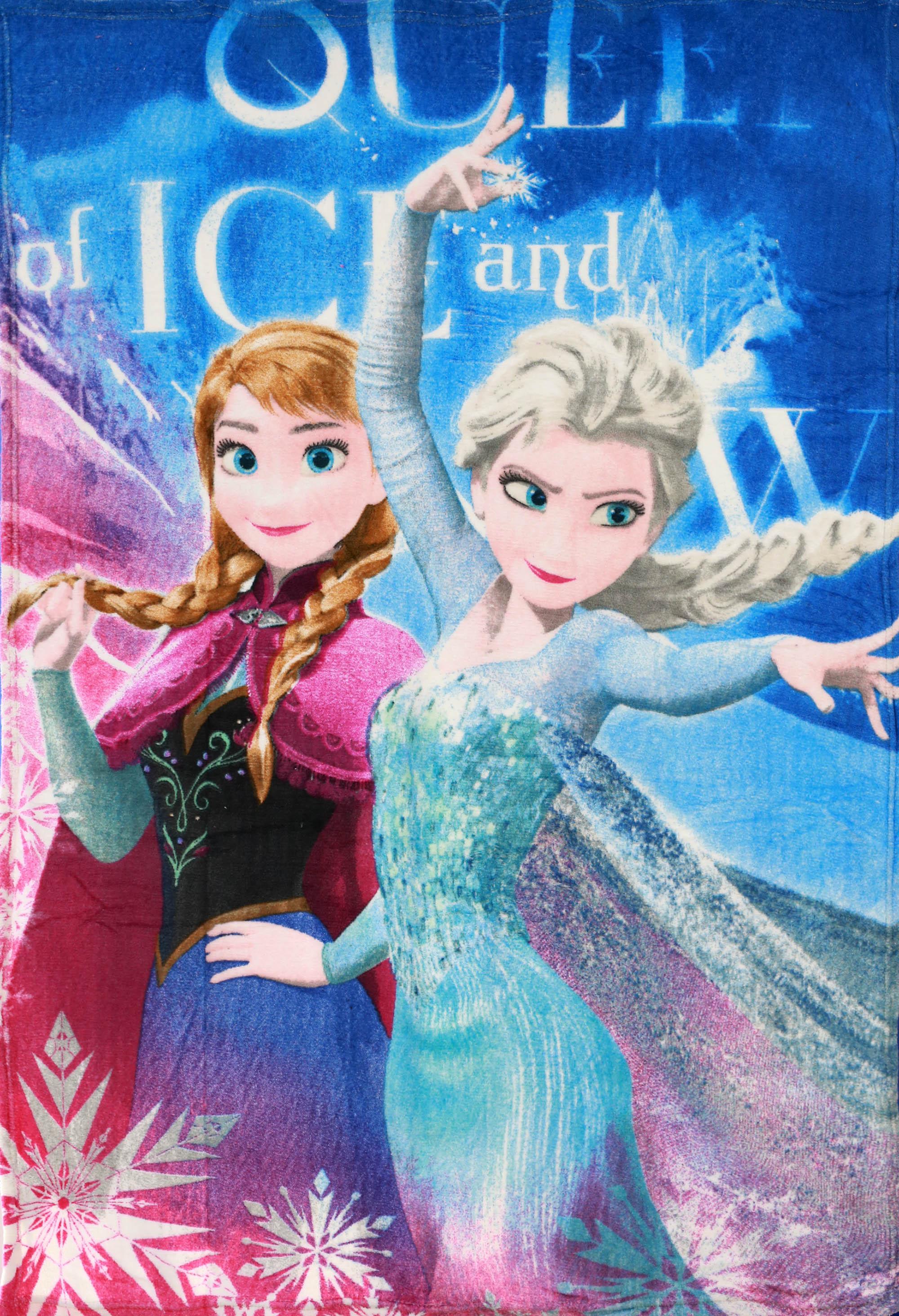 Setino Fleece Deka Frozen - Ledové království Královna Elza