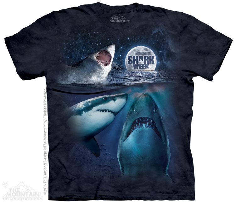 The Mountain Tričko Tři Žraloci Velikost: S