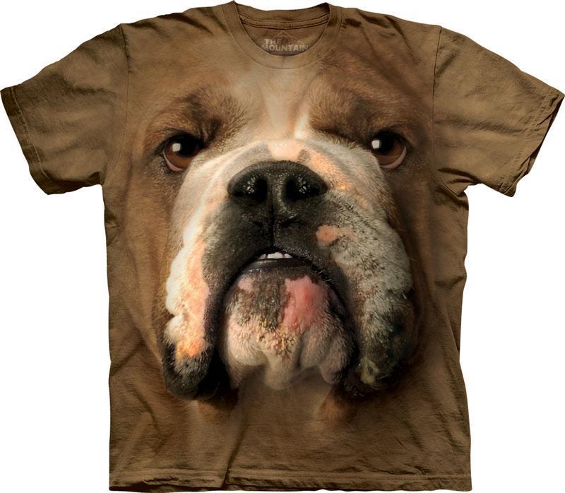 The Mountain Tričko Bulldog Face Velikost: S