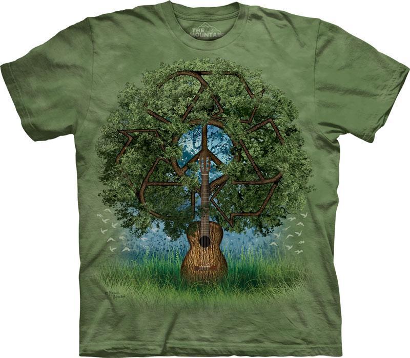 The Mountain Tričko Guitar Tree Velikost: S