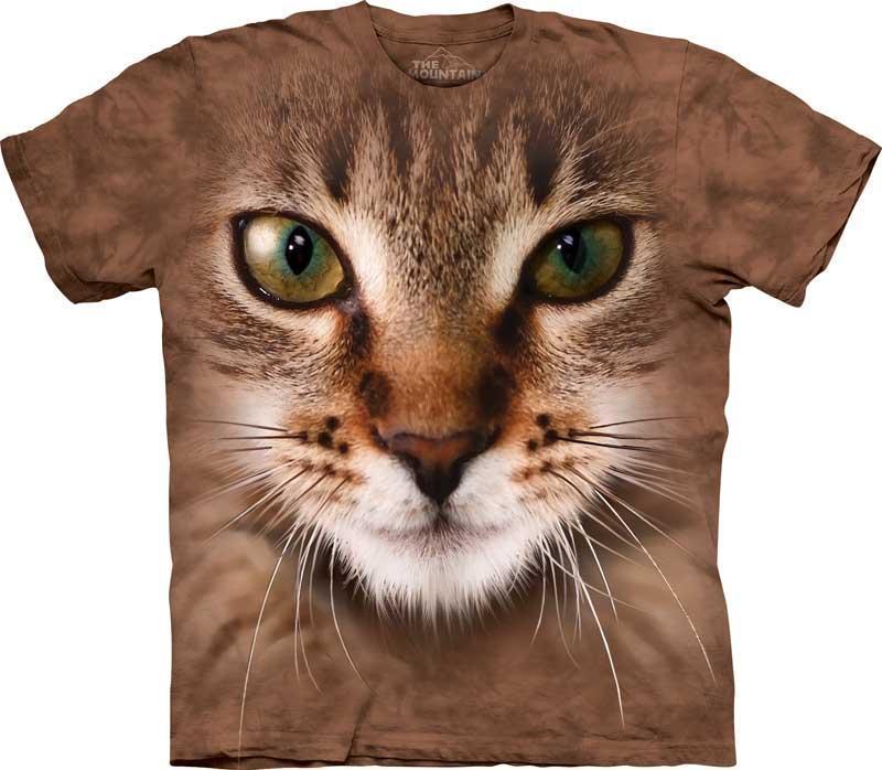The Mountain Tričko Mourovatá kočka Velikost: XXL