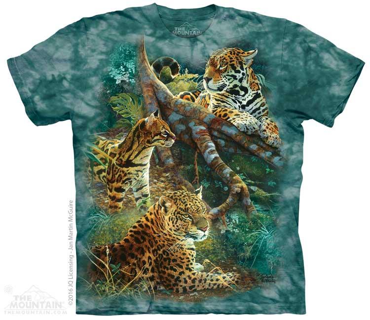 The Mountain Tričko Tři Kočky z Jungle Velikost: XXL