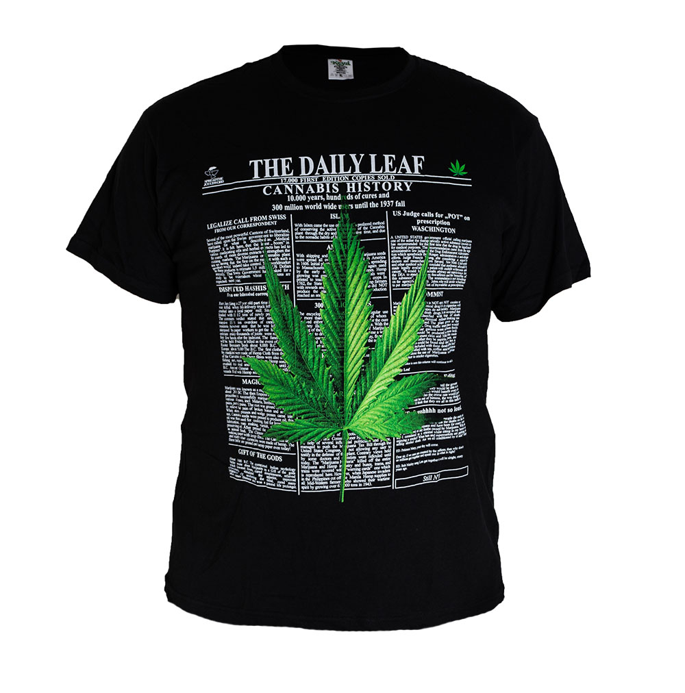 Universal Tričko Marihuana Cannabis News Velikost: M