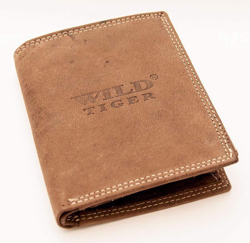Peněženka WILD Barva: Hnědá