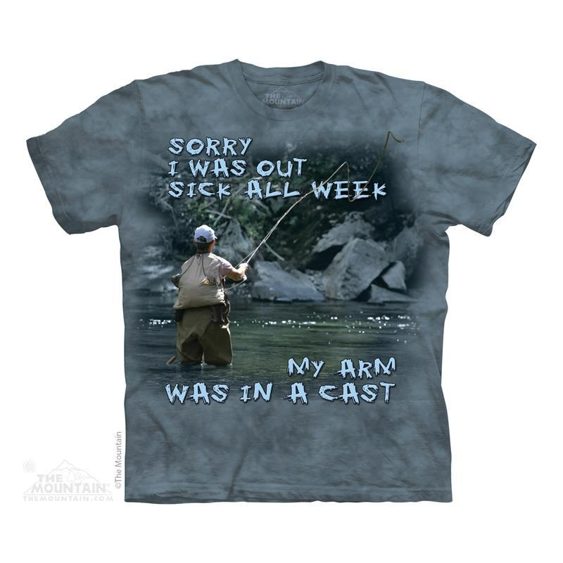 The Mountain Tričko Rybářské tričko Velikost: S