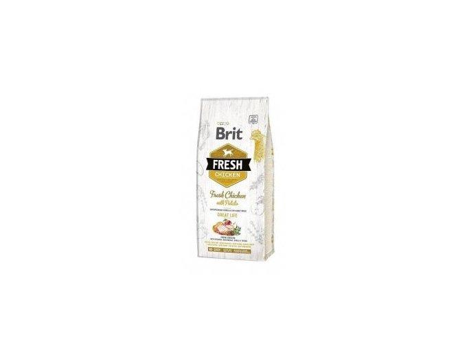 Brit Fresh Dog Chicken & Potato Adult Great Life