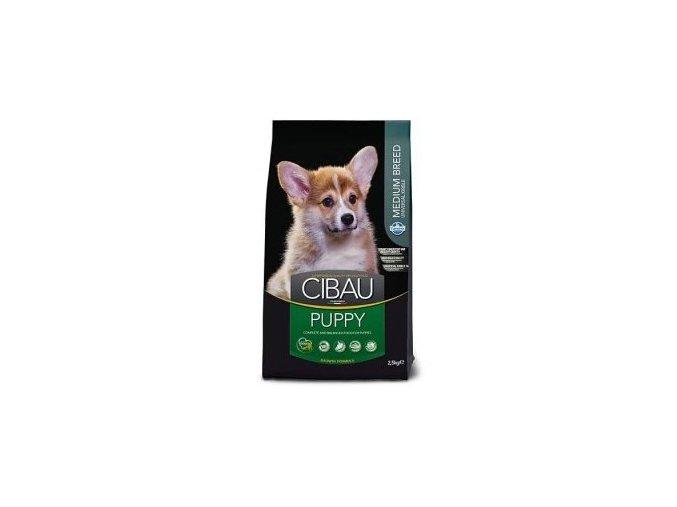 CIBAU Puppy Medium 12kg+2kg ZDARMA