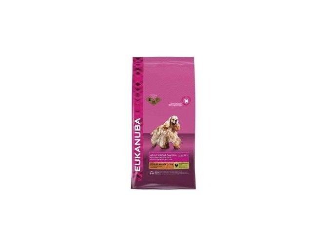 Eukanuba Dog Adult Weight Control Medium 3kg