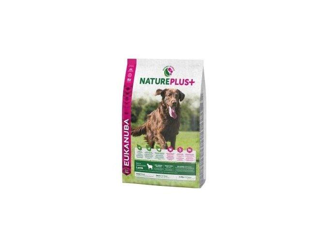 Eukanuba Dog Nature Plus+ Adult Large froz Lamb 2,3kg