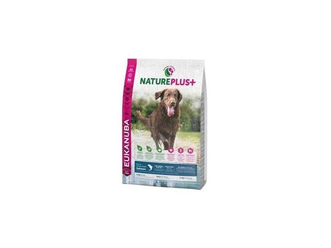 Eukanuba Dog Nature Plus+ Adult Large froz Salm 10kg
