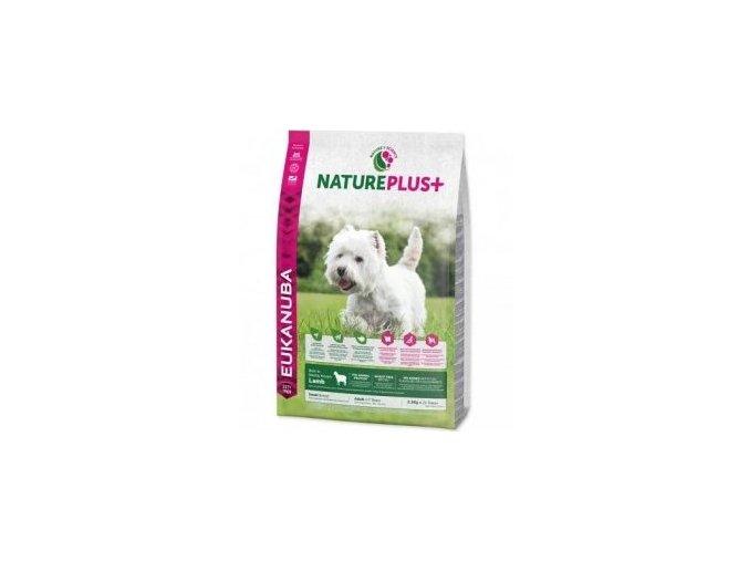 Eukanuba Dog Nature Plus+ Adult Small froz Salm 10kg