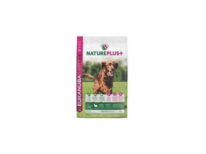 Eukanuba Dog Nature Plus+ Puppy&Junior froz Lamb