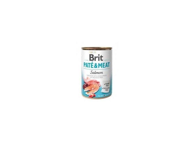 Brit Dog konz Paté & Meat Salmon