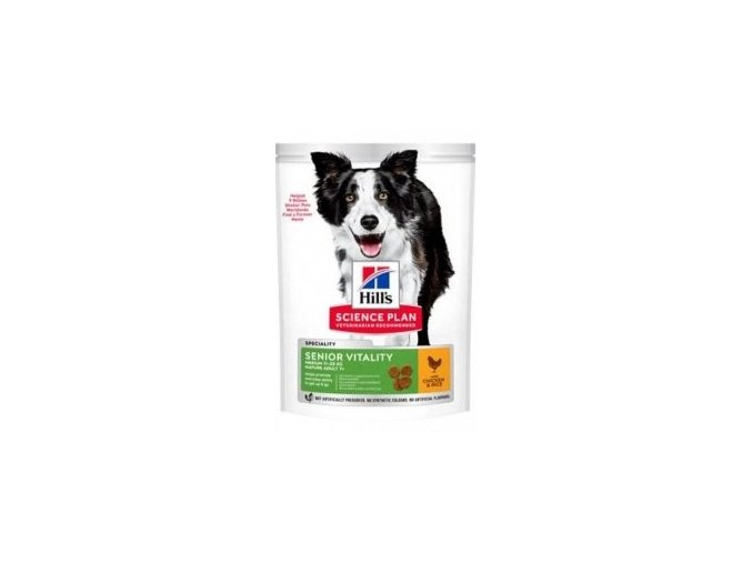 Hill's Can.Dry SP Mature Adult 7+Senior Medium Ch2,5kg