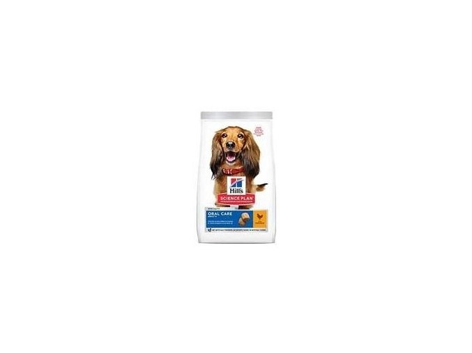Hill's Can.Dry SP Oral Care Adult Medium Chicken