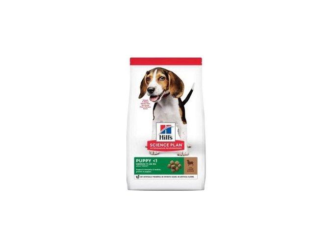 Hill's Can.Dry SP Puppy Medium Lamb&Rice