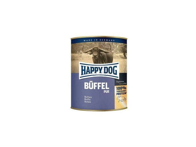 Happy Dog konzerva Buffel Pur buvolí
