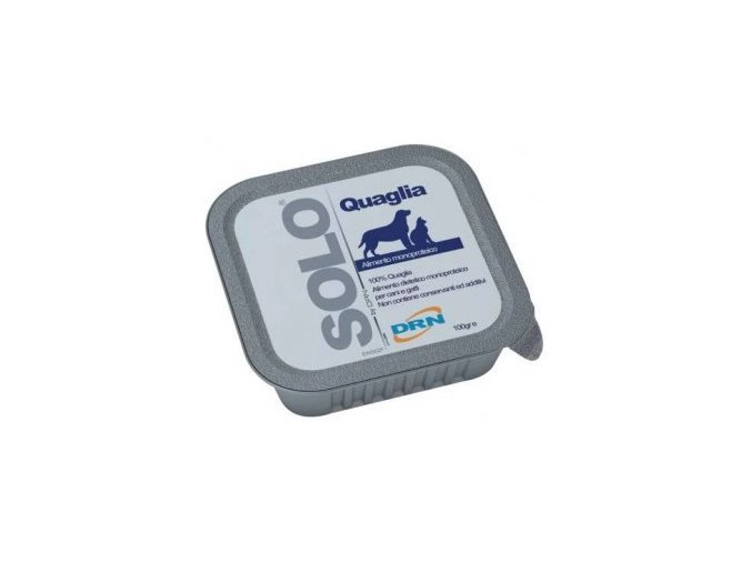 SOLO Quaglia 100% (křepelka) vanička