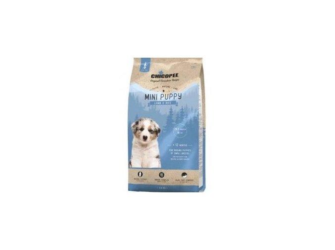 Chicopee Classic Nature Mini Puppy Lamb-Rice