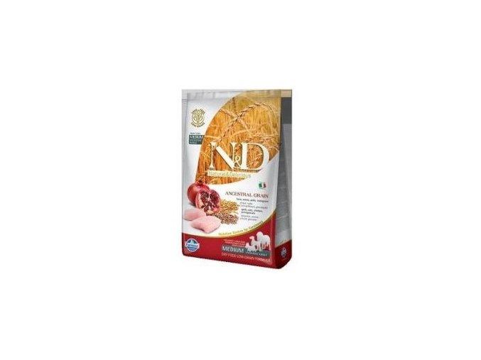 N&D LG DOG Adult M/L Chicken & Pomegranate